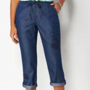 Soft Jeans Capri NWT